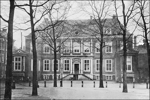 Huygenshuis in Den Haag