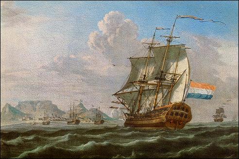 Noord-Nieuwland bij de Tafelbaai in 1762
