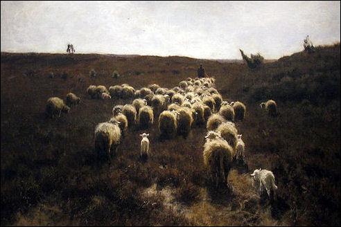 Anton Mauve: De terugkeer van de kudde