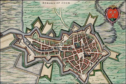 Beleg Bergen op Zoom in 1622