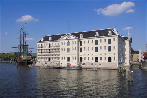 Zeevaartmuseum in Amsterdam