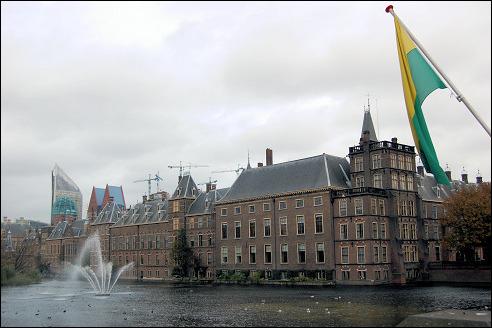 Hofvijver in Den Haag