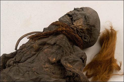 meisje van Yde in het Drents Museum