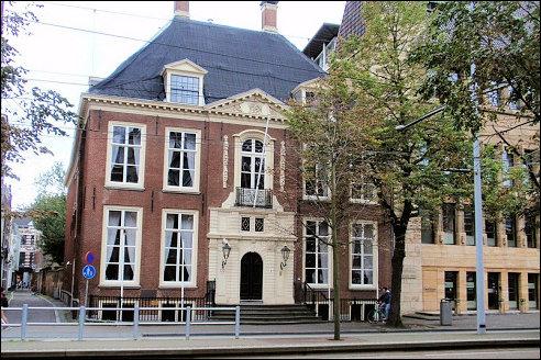 Johan de Witthuis in Den Haag