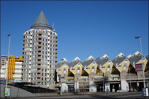 Blaaktoren in Rotterdam
