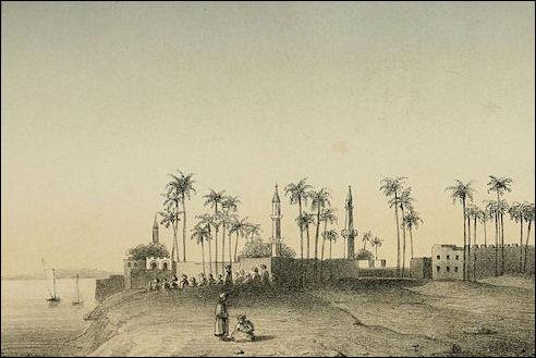 Conrad bij de landengte Suez