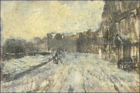 George Hendrik Breitner: Het Rokin in Amsterdam