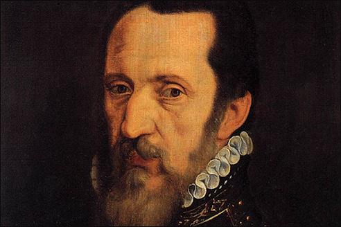 Portret van de hertog van Alva