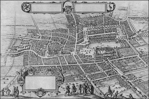 Den Haag in 1598