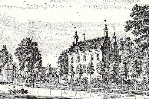 Bolenstein omstreeks 1745