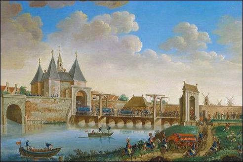 Pruisen in Amsterdam