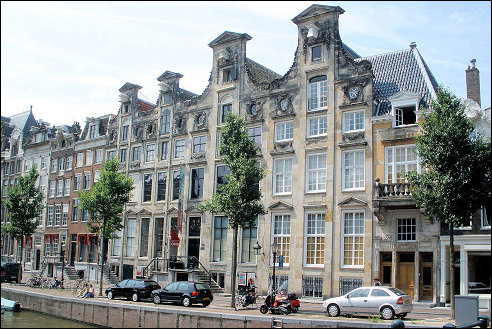 Cromhouthuis aan de Herengracht in Amsterdam