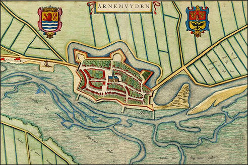 Arnemuiden in 1649