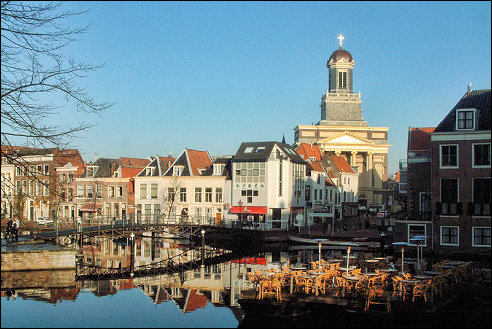 Hartebrugkerk in Leiden