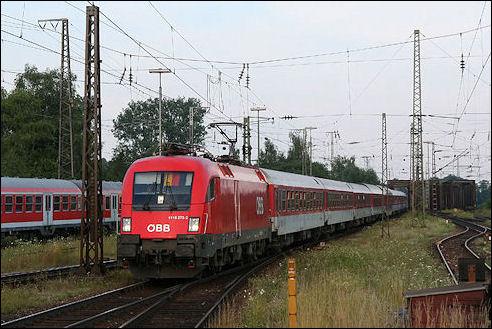 Nachttrein EuroNight 482