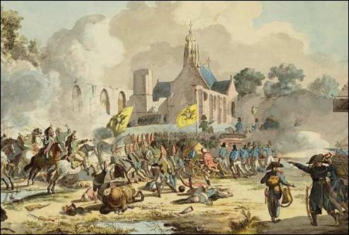 De Slag bij Bergen in 1799