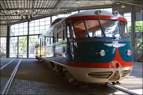 Kameel in Spoorwegmuseum