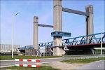 Calandbrug bij Rozenburg