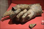 Bronzen hand