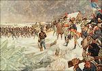Franse troepen trekken over de lek in 1795