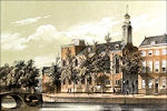 Academiegebouw in Leiden