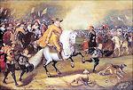 Prins Maurits in de Slag bij Nieuwpoort